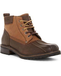Brigg Plain Toe Boot