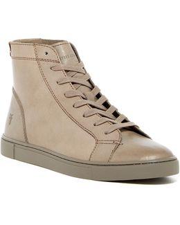 Gemma High Lace Sneaker