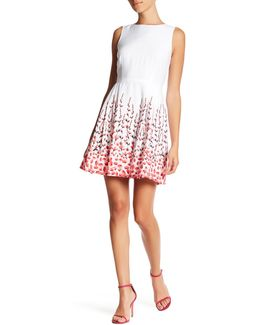Claiborne Sleeveless Floral Print Dress (petite)