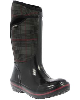 'plimsoll - Prince Of Wales' Tall Waterproof Snow Boot