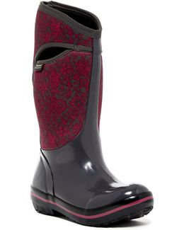 Plimsoll Quilted Waterproof Rain Boot