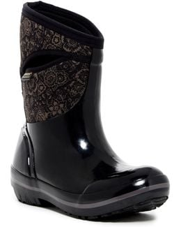 Plimsoll Mid Quilted Waterproof Rain Boot