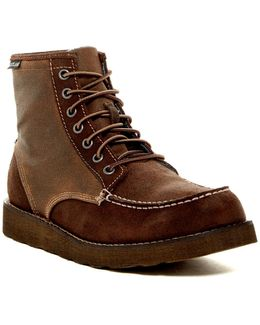 Lumber Up Moc Toe Boot