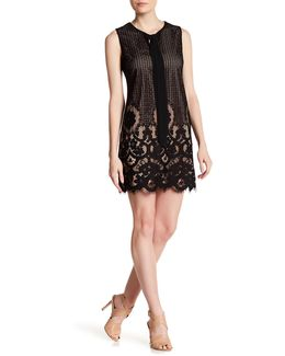 Rosie Tie Neck Lace Dress