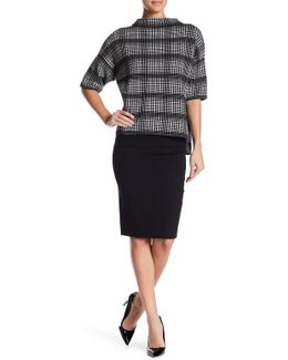 Street Twill Pencil Skirt