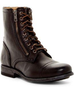 Tyler Double Zip Military Boot