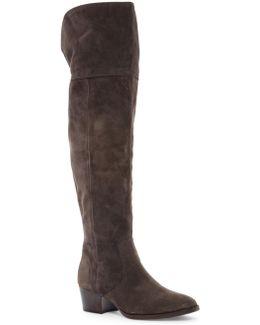 Clara Tassel Over The Knee Boot