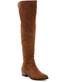 Ray Grommet Over The Knee Boot