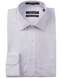 Mini Grid Tailored Fit Dress Shirt