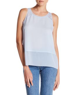 Polly Raw Edge Sleeveless Tank