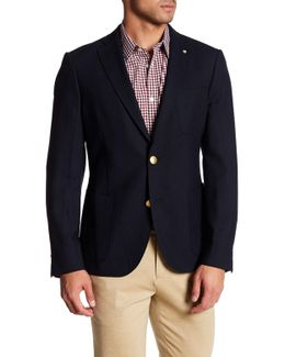 The Club Tailored Fit Wool Blazer