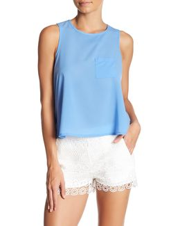 Sleeveless Pocket Tank