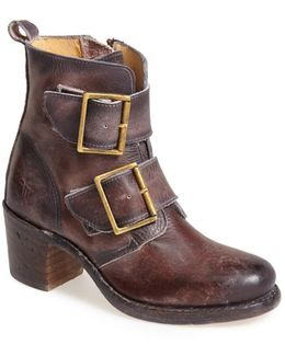 'sabrina' Double Buckle Bootie