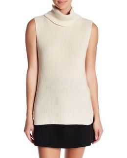 Abel Sleeveless Turtleneck Sweater