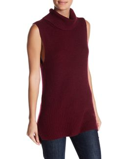 Abel Sleeveless Turtleneck Sweater