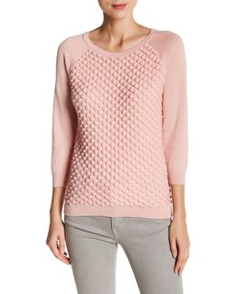 Audrey Knits Textured Sweater