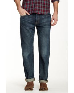 221 Original Straight Barite Wash Jeans