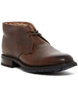 James Genuine Shearling Chukka Boot