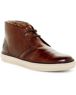 Gates Genuine Shearling Lined Chukka Sneaker