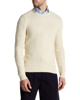 Corded Knit Sweater