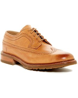 James Lug Wingtip Oxford