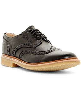 James Crepe Wingtip Oxford