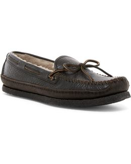 Porter Tie Genuine Shearling Lined Moccasin