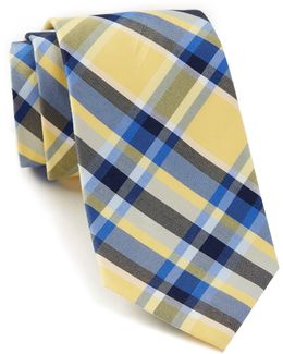 Sunwashed Plaid Tie