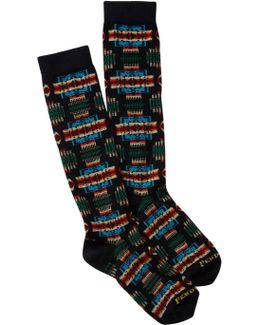 Patterned Knee High Socks