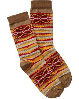 Lahaina Wave Crew Socks
