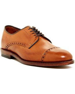 Madison Ave Cap Toe Derby - Extra Wide Width Available