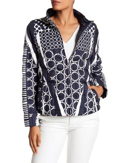 Quilted Print Jacket