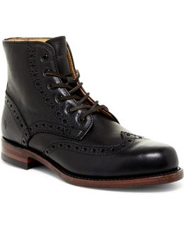 Arkansas Wingtip Boot