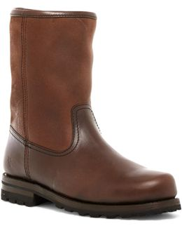 Warren Genuine Shearling Lined Pull-on Boot