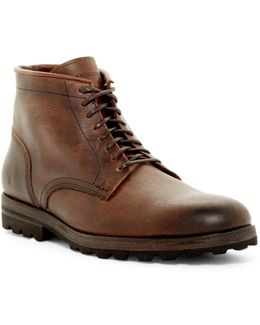 William Lug Lace-up Boot