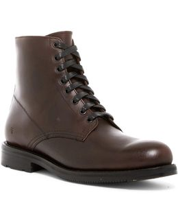 Brayden Plain Toe Boot