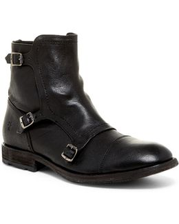 Ethan Triple Monk Boot