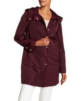 Iridescent Packable Raincoat