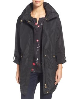 Packable A-line Raincoat