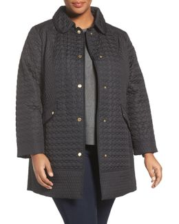 Quileted Barn Coat (plus Size)