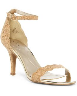 Meria Natural Cork Sandal