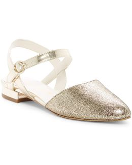 Odell Ankle Strap Flat