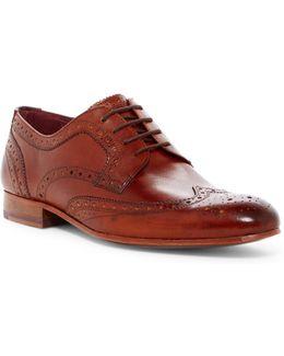 Gryene Leather Wingtip Derby