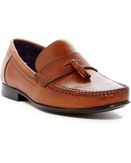 Simbaa Leather Tassel Loafer