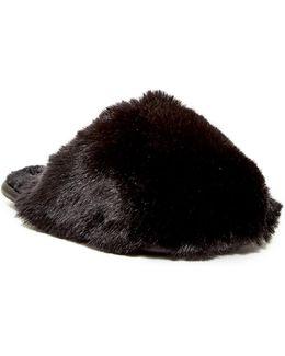 Hawleth Faux Fur Slipper
