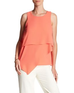 Asymmetrical Tiered Blouse