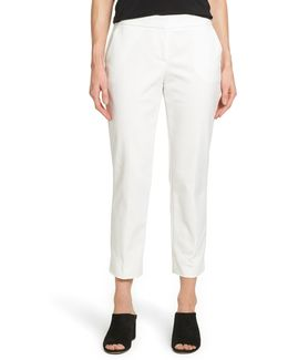 Crop Straight Leg Pants (regular & Petite)
