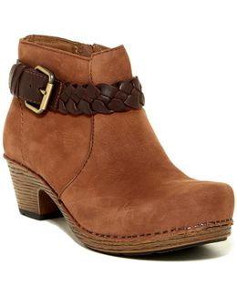 Michelle Milled Ankle Boot