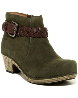 Michelle Oiled Ankle Boot
