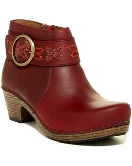 Mina Oiled Ankle Boot